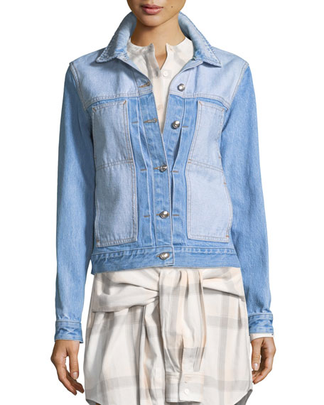 Toby Two-Tone Classic Jean Jacket