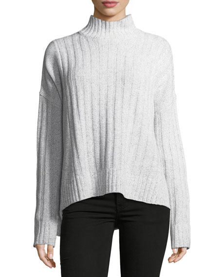 Derek Lam 10 Crosby Long-Sleeve Turtleneck Knit Sweater