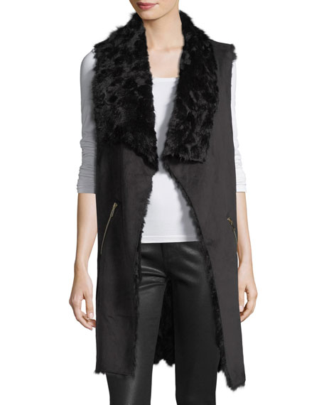 Dolce Cabo Faux-Shearling Vest