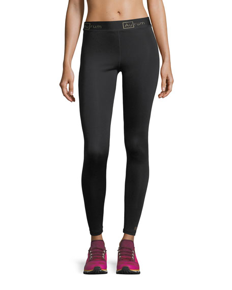 Aurum Radiance Seamless Performance Leggings