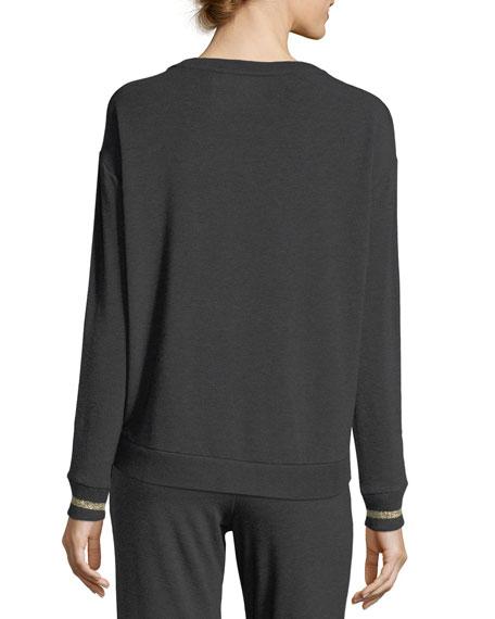 Long-Sleeve French Terry Sweatshirt