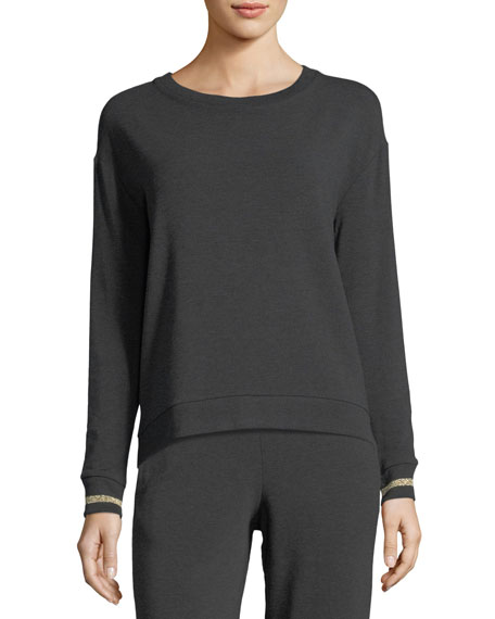 Long-Sleeve French Terry Sweatshirt