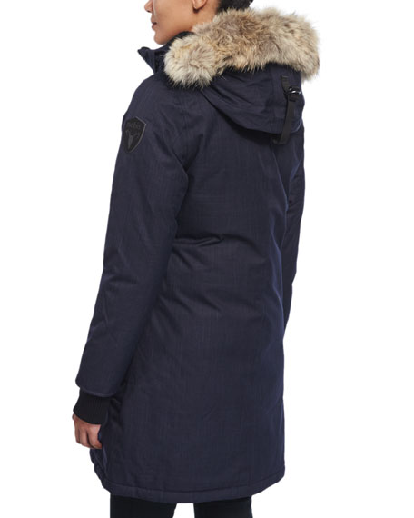 Meredith Coat with Fur Hood