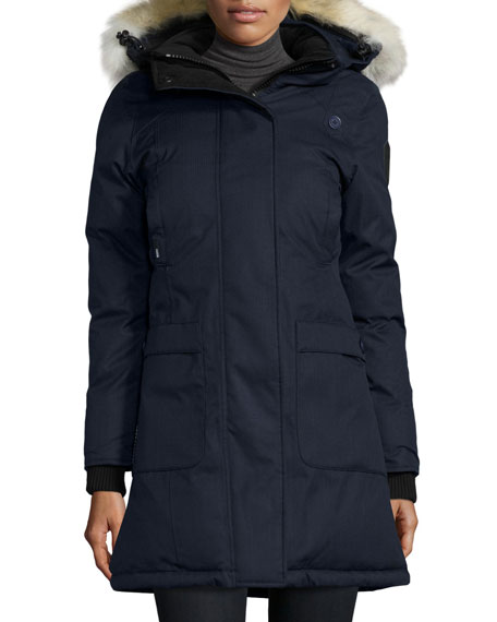 Meredith Coat with Fur Hood