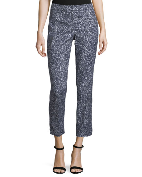 NIC+ZOE Stargazer Pull-On Ankle Pants