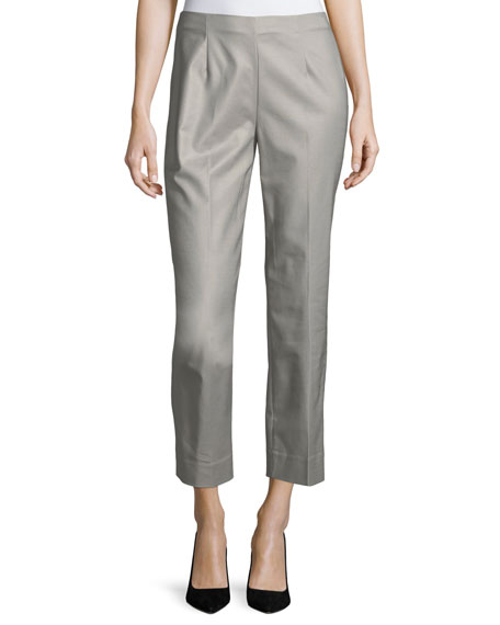 NIC+ZOE Perfect Side-Zip Crop Pants