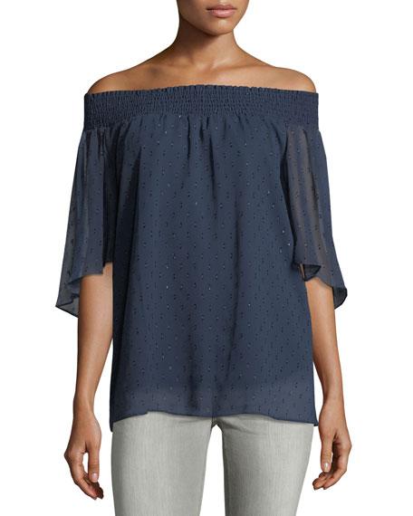 Off-the-Shoulder Blouse