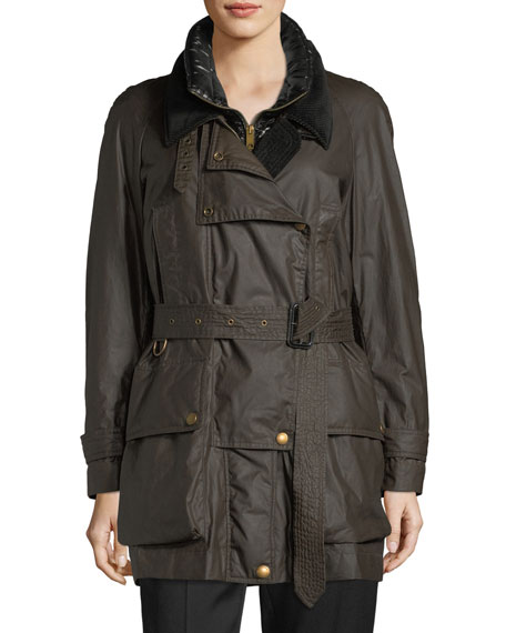 Burberry Calverhall 3-in-1 Waxed Jacket