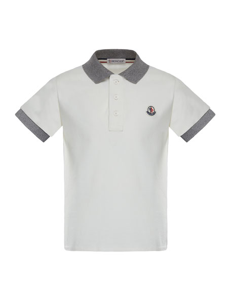 Maglia 1 Two-Tone Short-Sleeve Polo, Size 8-14