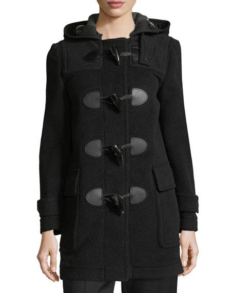 Burberry Mersey Wool-Blend Duffle Coat