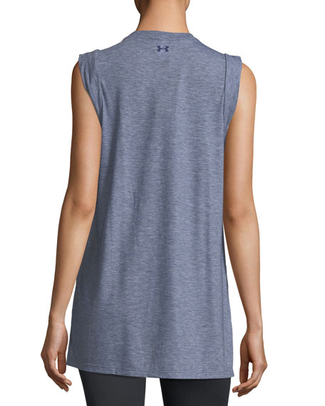 Breathe Slit-Side Tunic Tank