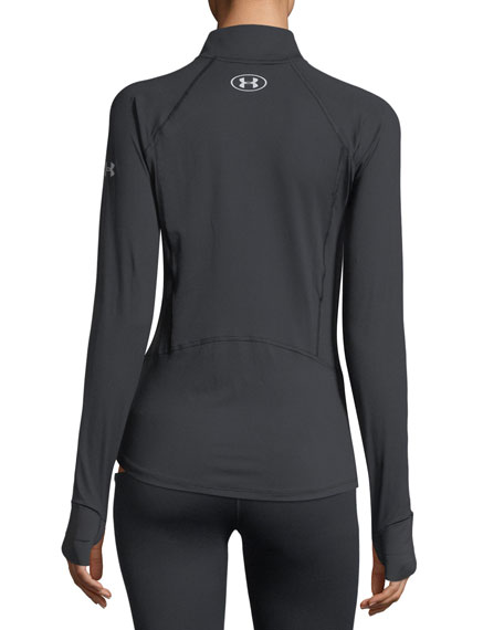 Run True Half-Zip Long-Sleeve Performance Top