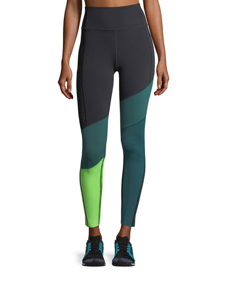 Under Armour Mirror BreatheLux Asymmetric High-Rise Performance