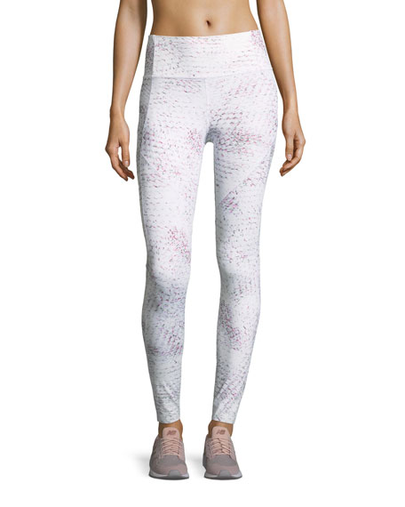 Under Armour Misty Full-Length Printed Performance Leggings
