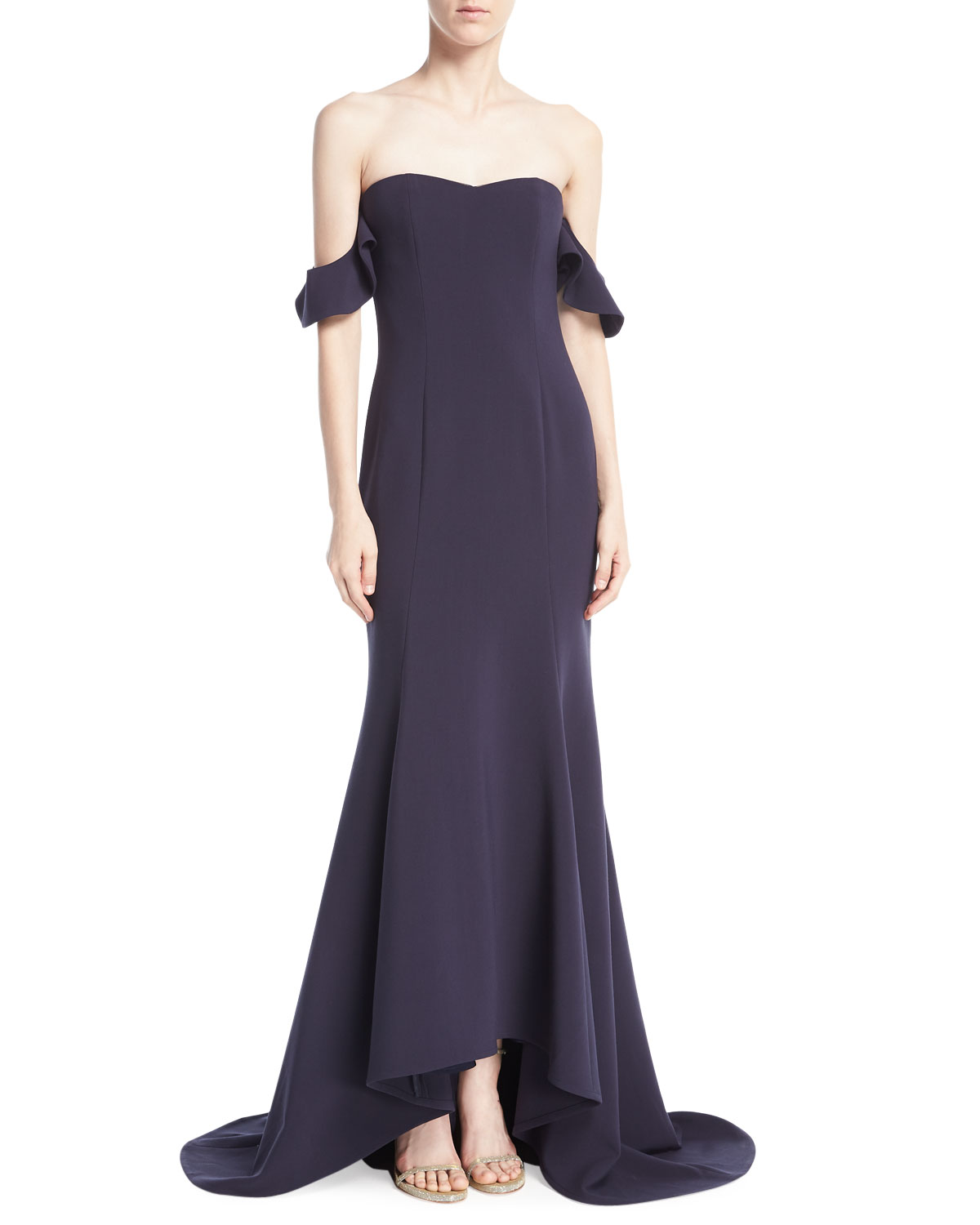 ea117bb191dd Likely Sunset Off-the-Shoulder Sweetheart Evening Gown