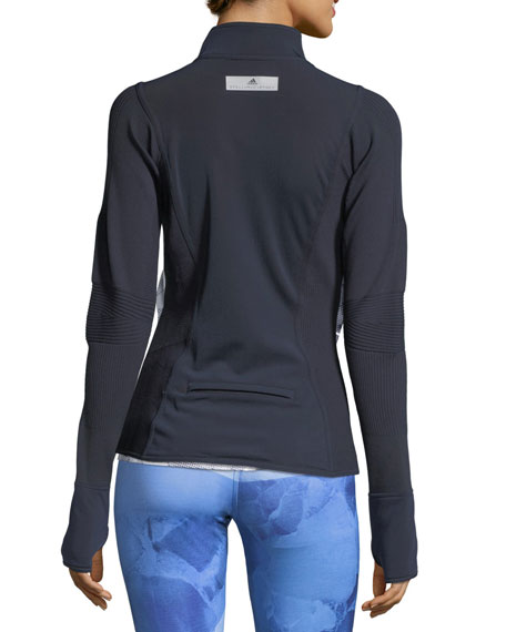 Run Knit Mix Mid-Layer Performance Jacket