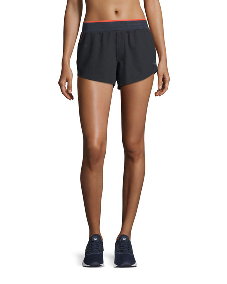 The Upside Midnight Crop Running Shorts