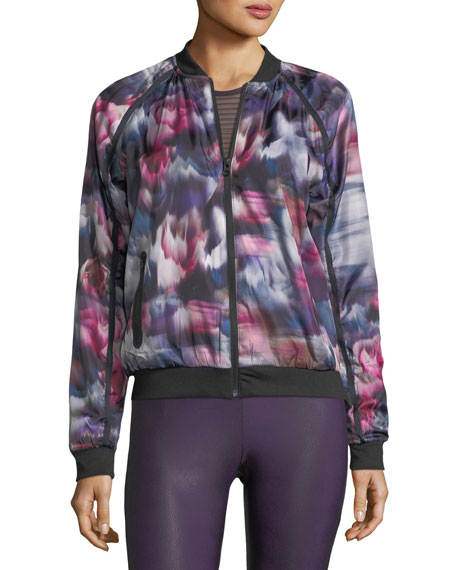 Fast Flower Performance Bomber Jacket