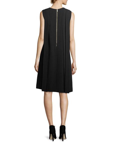 Zaida Sleeveless Finesse Crepe Dress