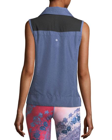 Packable Laser-Cut Vest