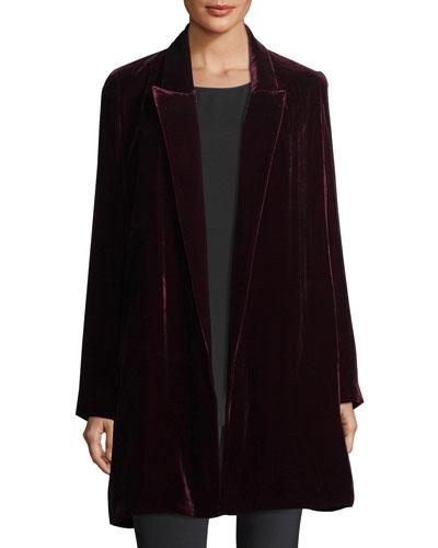 Naveah Wool Coat, Plus Size
