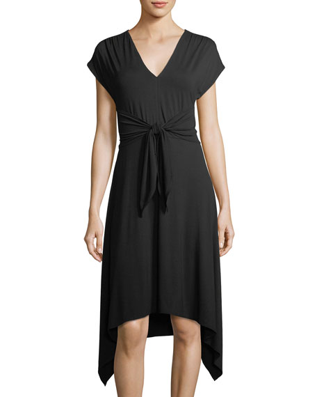 High-Twist Jersey Dress