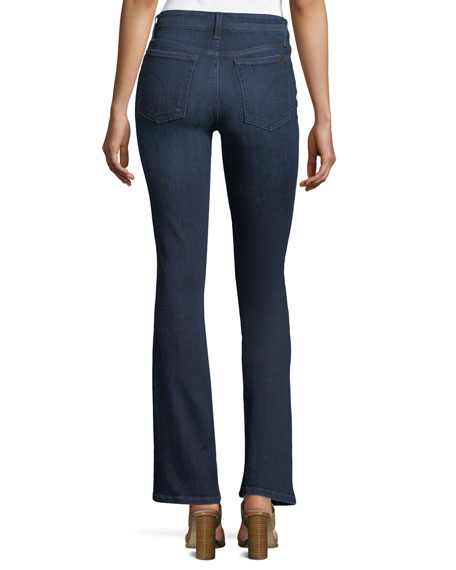 Petite Boot-Cut Ankle Jeans