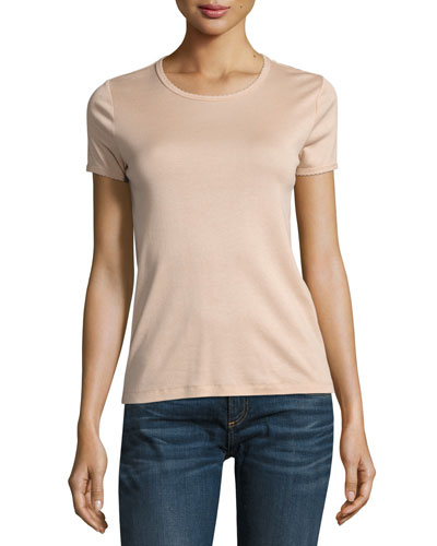 Bridgette Rope-Trim Tee