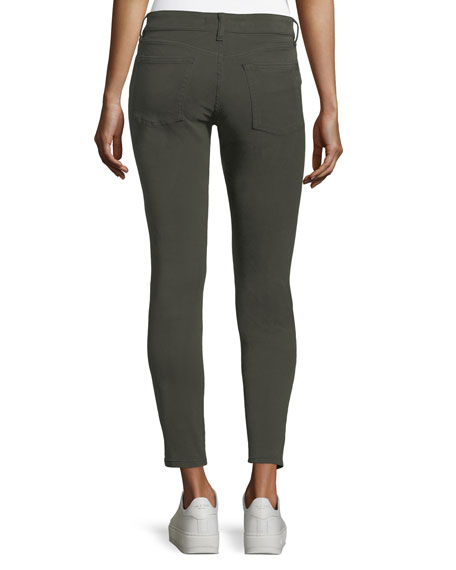 Margaux Instasculpt Ankle Skinny Twill Jeans in Shamrock