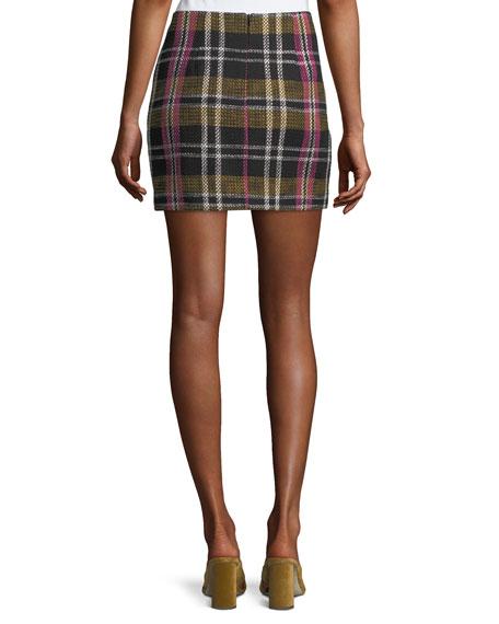 Rico Plaid Mini Skirt