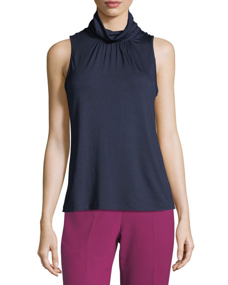 Spears High-Neck Sleeveless Top