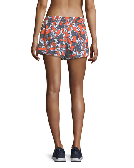 Sea of Koi Drawstring Running Shorts
