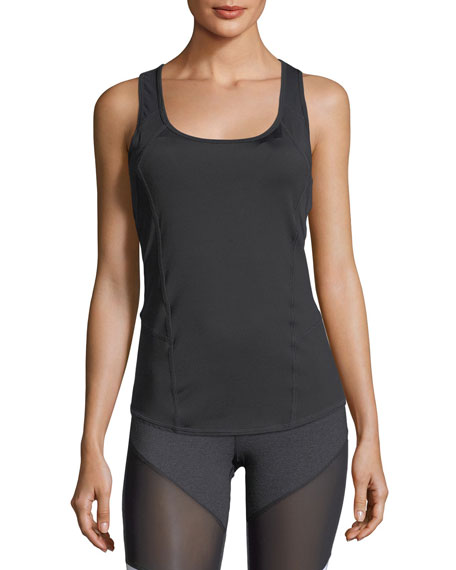 Strive Shelf Scoop-Neck Racerback Tank
