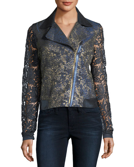 May Lace Moto Jacket