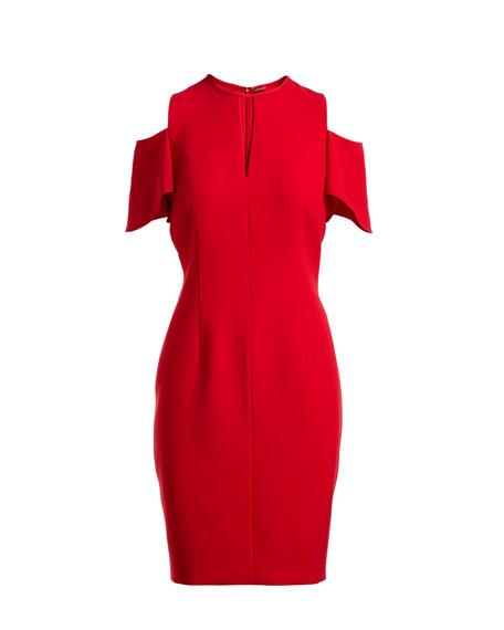 Oleandra Cold-Shoulder Dress