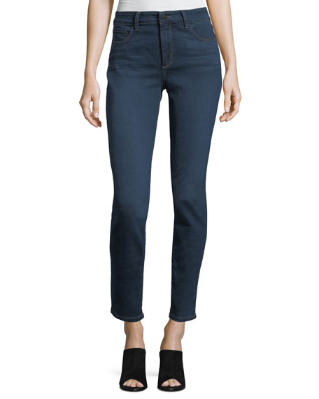 NYDJ Alina Mid-Rise Denim Leggings