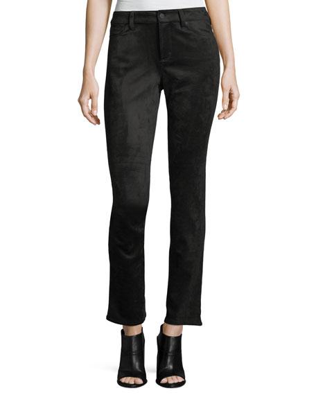 NYDJ Sheri Faux-Suede Skinny Pants