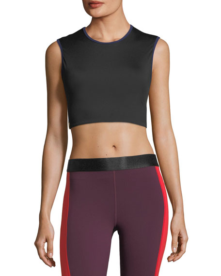 Monreal London Athlete Performance Crop Top