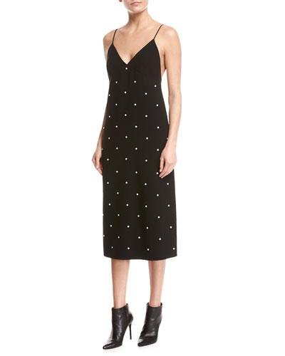 Neve Beaded Camisole Slip Dress