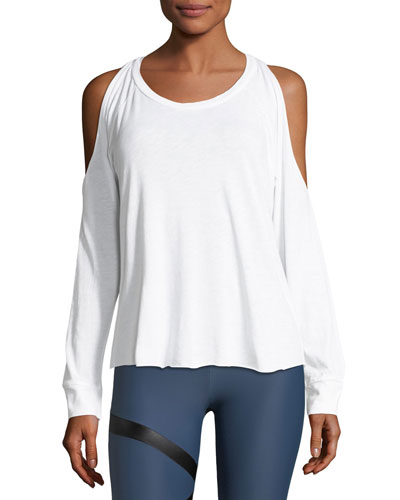 Cutout Pullover Performance Top