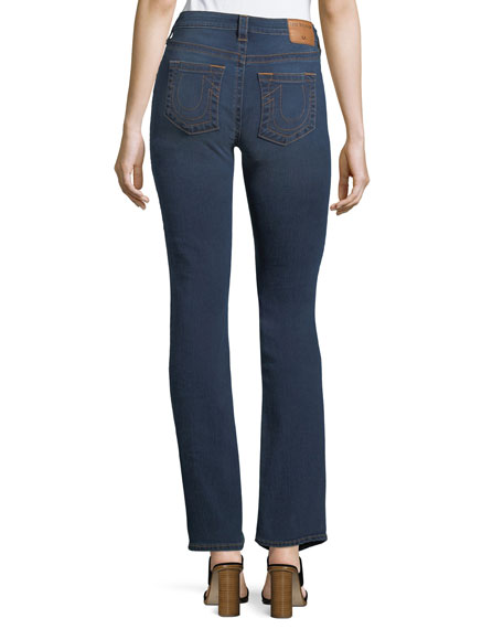 Billie Mid-Rise Straight-Leg Jeans