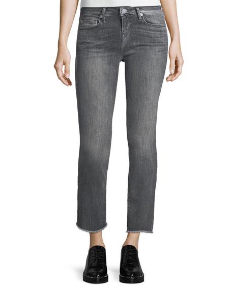 True Religion Sara Cigarette Ankle Jeans w/ Frayed
