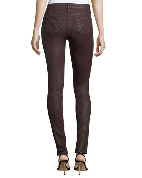 Waxpuzzle Mirror Mid-Rise Skinny Jeans