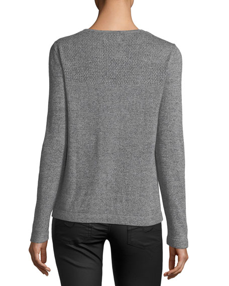 Keyhole Pullover Sweater