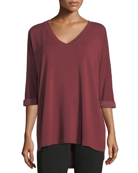 Long-Sleeve Dolman Tee