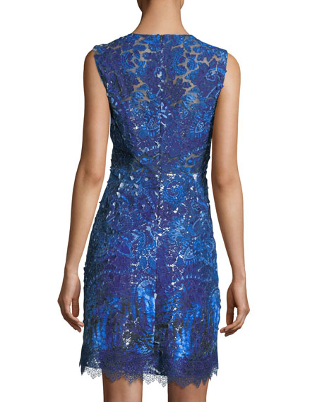 Anabelle Shimmery Lace Dress