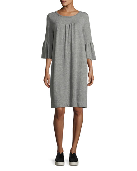 Current/Elliott The Abigail Heathered Knit Dress