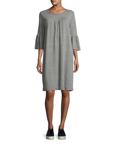 The Abigail Heathered Knit Dress