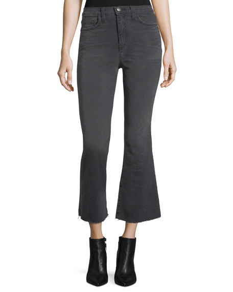 Current/Elliott The High-Waist Flared Kick Jeans