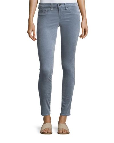 Velvet Skinny-Leg Jeans